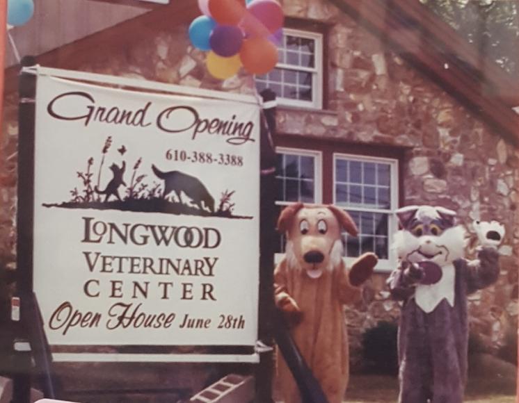 Happy 20th Birthday Longwood Veterinary Center